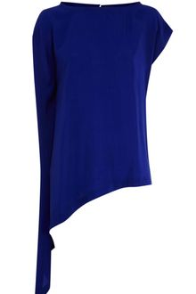 Karen Millen Beautiful Soft Draped Top - Lyst