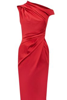 Karen Millen Beautiful Satin Dresses - Lyst