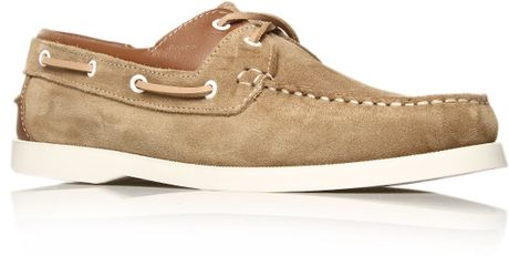 Kg Sorrento Laceup Shoes in Brown for Men (taupe) - Lyst