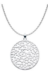 Kit Heath Medium Silver Freeze Necklace - Lyst