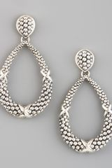 Lagos Caviar Teardrop Earrings - Lyst