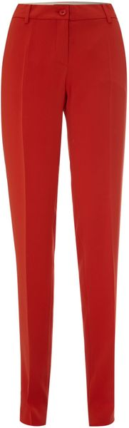 Max Mara Studio Otranto Colourful Turn Up Trouser - Lyst