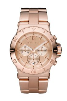Michael Kors Round Case Watch - Lyst