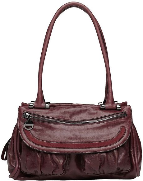 Mimco Prim Mini Day Bag in Purple (burgundy) - Lyst