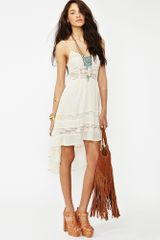 Nasty Gal Desert Lace Dress - Lyst