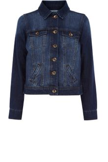Oasis Western Denim Jacket - Lyst
