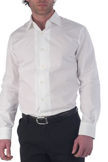 Paul Smith Long Sleeved Slim Fit Poplin Shirt - Lyst