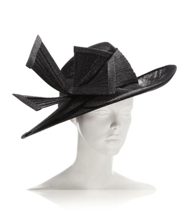 bb723112347 Philip Treacy Oval Hat in Black - Lyst