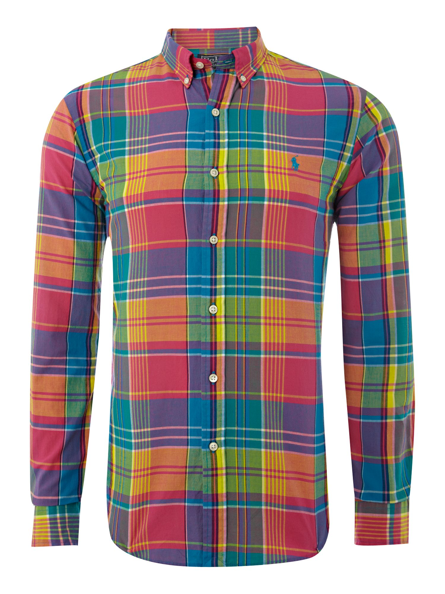 Plaid Short Sleeve Shirts For Men
