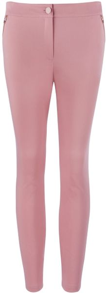 Ted Baker Detty Trouser in Pink - Lyst