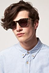 Alexander Wang Alexander Wang Wayfarer Sunglasses in Brown for Men - Lyst