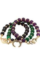 Belle Noel Set Of Three Bracelets - Lyst