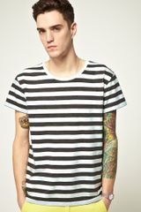 Cheap Monday Cheap Monday Alex Striped Tshirt - Lyst