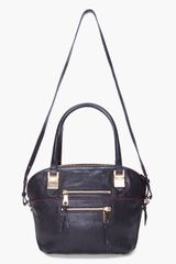 Chloé Black Angie Tote in Black - Lyst
