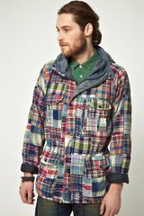 Ralph Lauren Denim Supply By Ralph Lauren Coat with Patchwork Check in Multicolor for Men (multi) - Lyst