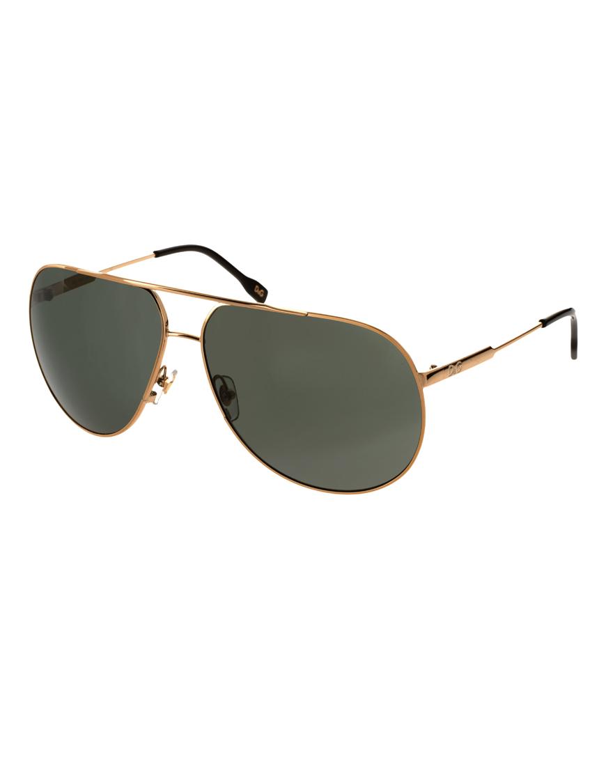 48e544b6115a3 Lyst Gabbana Dolce amp  In Sunglasses Men For Aviator Dg Metallic UUqrEw