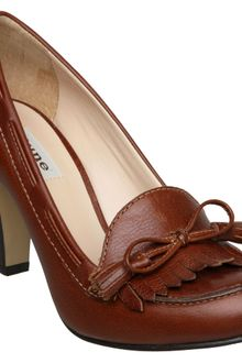 Dune Asterix D Tassel Bow Fron Loafer Court Shoes - Lyst