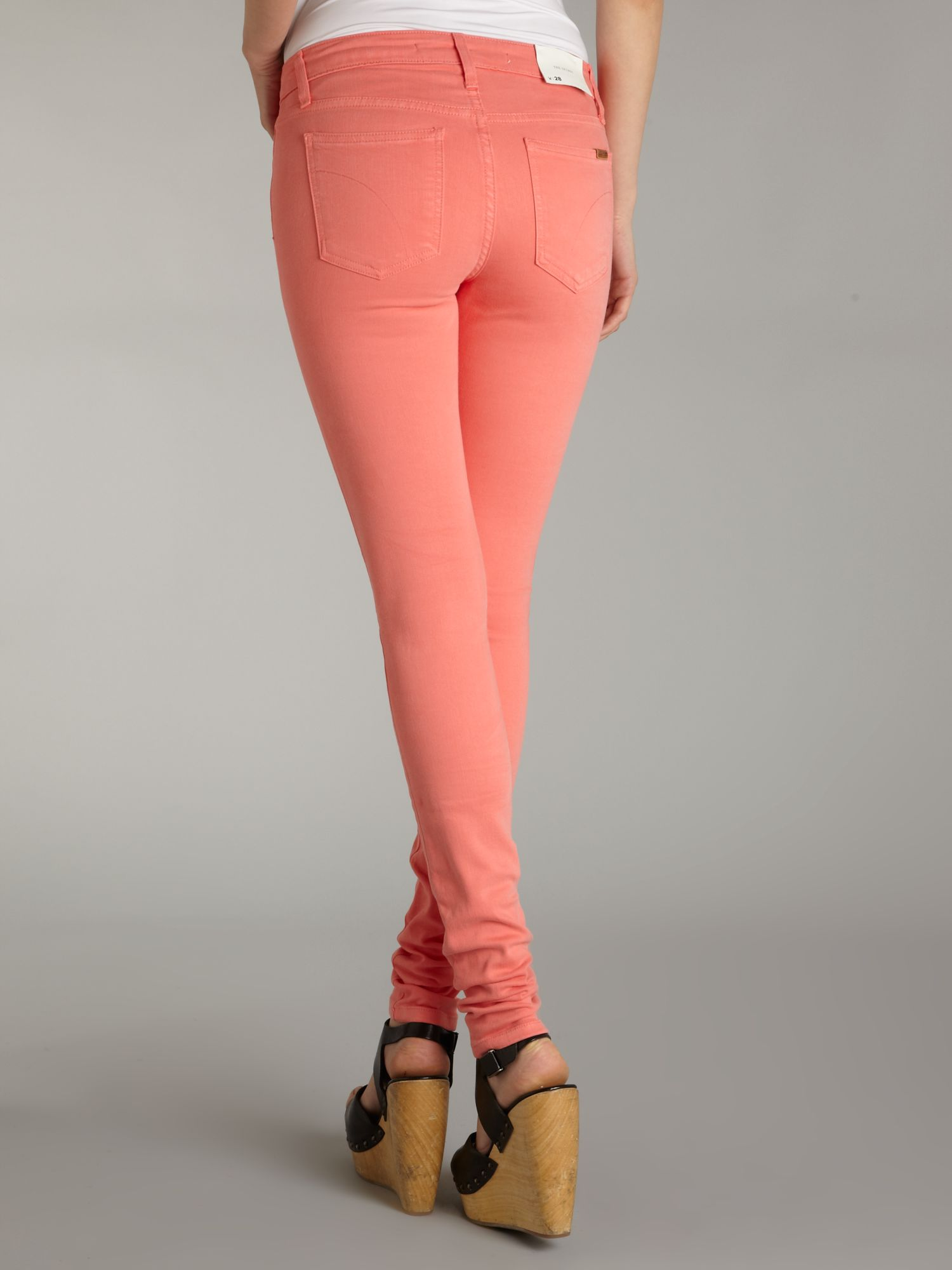 Joe's jeans The Skinny Coloured Jeans in Pink | Lyst
