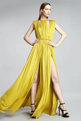Lanvin Rope-shoulder Gown - Lyst