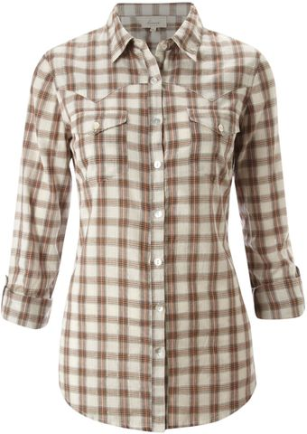 Linea Weekend Checked Shirt - Lyst