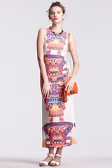 Mara Hoffman Printed Maxi Dress - Lyst