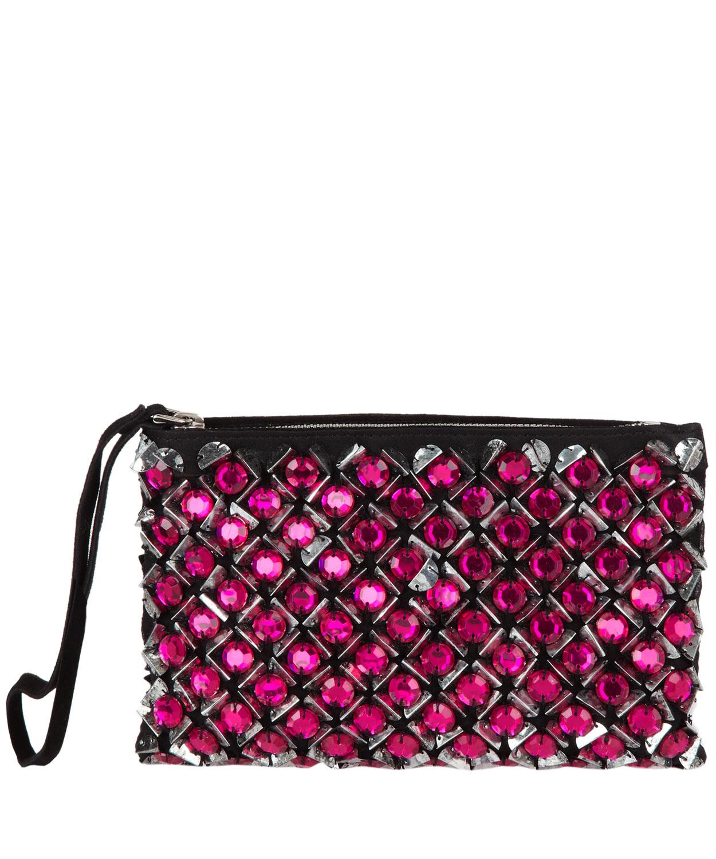 black leather prada - prada embellished suede pochette, prada tote bag price