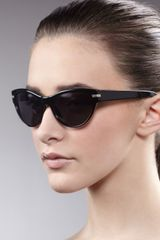 Oliver Peoples Kosslyn Cateye Sunglasses Black - Lyst