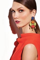 Oscar De La Renta Multicolor Resin Earrings in Multicolor (multi colors) - Lyst