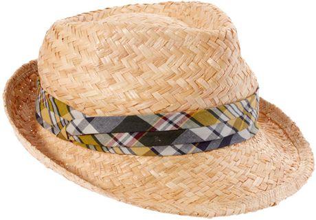 Polo ralph lauren Hand-woven Straw Panama Hat in Black for Men   Lyst