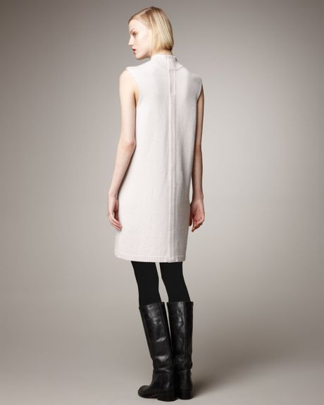 White Cashmere Sweater Dress Cashmere Sweater Dress in