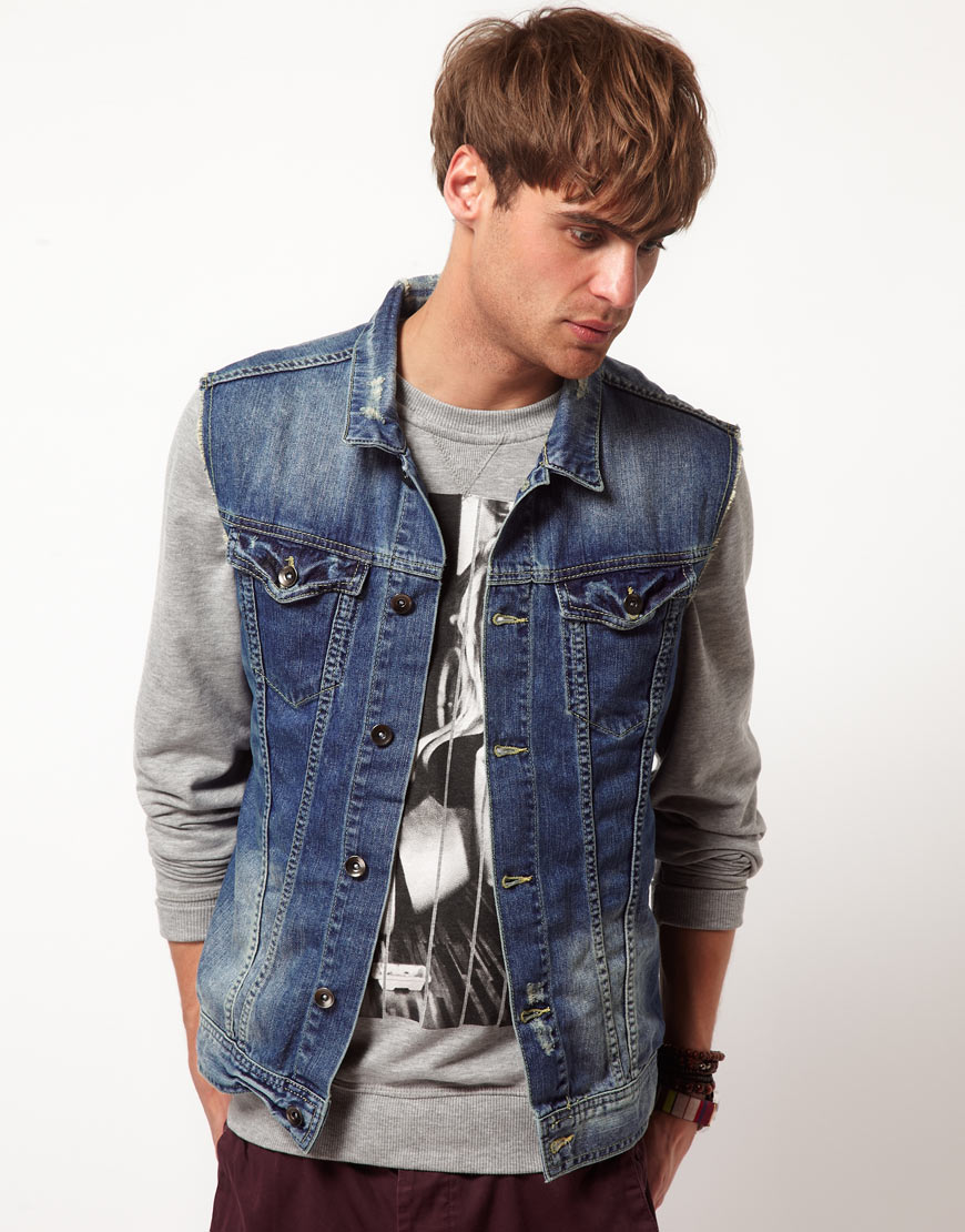 Denim Jackets For Men. Exude the laidback feel of quintessential American style with denim jackets for men. An easy piece to wear when it's not quite summer yet but too warm for a coat, the jean jacket is a spring and autumn staple in any guy's wardrobe. Check .