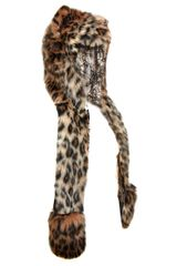 Spirit Hoods Leopard Hood in Animal (multi) - Lyst