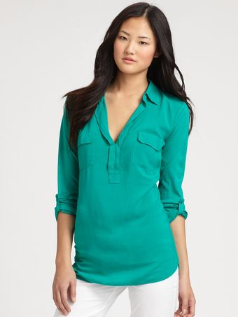 Splendid Cargo Top - Lyst
