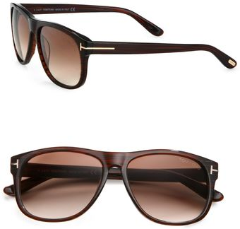 Tom Ford Olivier Plastic Sunglasses - Lyst