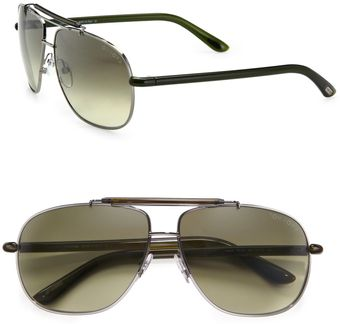 Tom Ford Adrian Aviator Sunglasses - Lyst