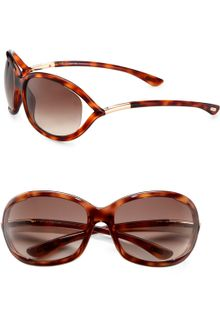 Tom Ford Semifloating Plastic Sunglasses - Lyst