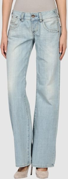 Tommy Hilfiger Denim Denim Trousers - Lyst