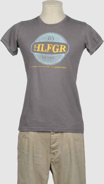 Tommy Hilfiger Denim Short Sleeve Tshirt - Lyst