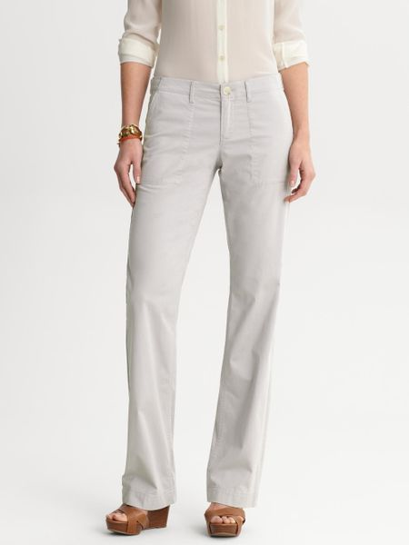 Elegant Banana Republic Weekend Chino Pants In Beige New Sand  Lyst