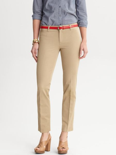 Luxury Banana Republic Weekend Chino In Brown Mateo Tan  Lyst