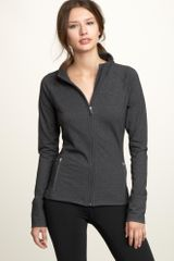 Gap Gapfit Fullzip Heathered Jacket - Lyst