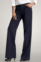 Gap Perfect Trouser Pinstripe Pants - Lyst