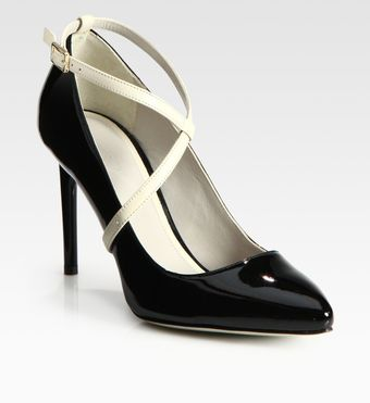 Jason Wu Christie Twotone Patent Leather Pumps - Lyst