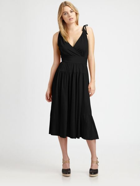 Marc By Marc Jacobs Christina Jersey Dress in Black - Lyst