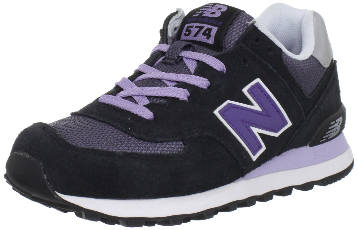 new balance purple & yellow 580 trainers