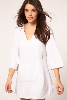 Seafolly Seafolly Terry Kaftan - Lyst