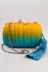 Serpui Marie Marrakesh Minaudiere in Multicolor (turquoise) - Lyst