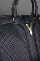 Yves Saint Laurent Cabas Chyc Bag in Black - Lyst