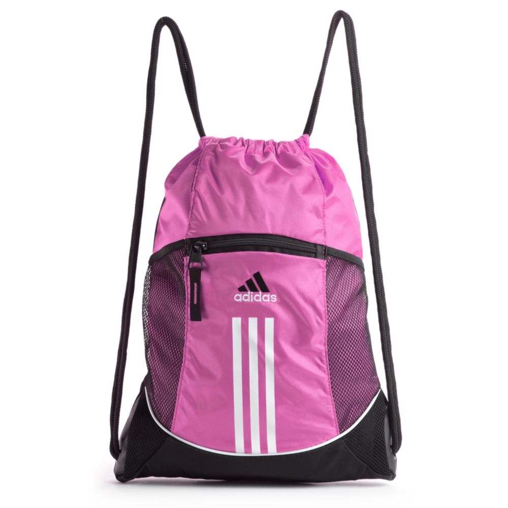 d5f76b53fa70 ... Lyst - Adidas Alliance Sport Sackpack in Pink release date ae2ff d7287  ...