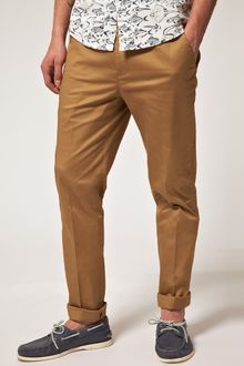 Asos Slim Fit Smart Trouser - Lyst